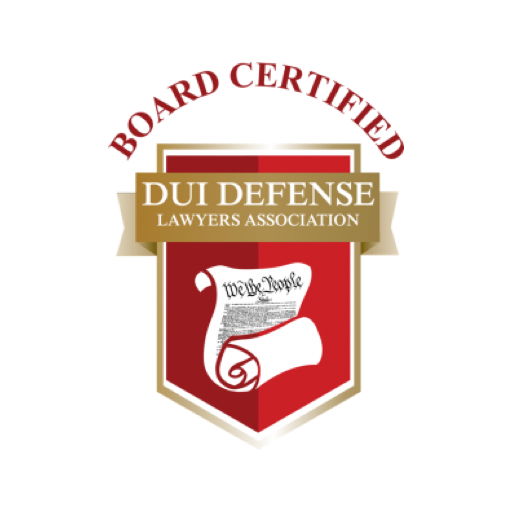 Board Certified in DUI Defense by DUI Defense Lawyers Association