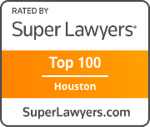 Top 100 Super Lawyers in Houston by Thompson Reuters