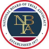 Board Certified Advocate in Criminal Trial Law by the NBTA Foundation